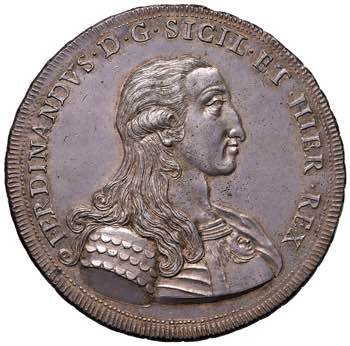PALERMO. Ferdinando III di Borbone ...